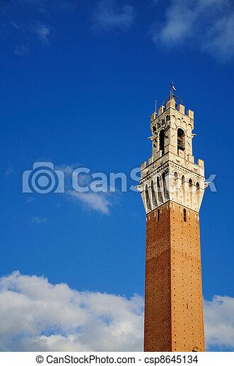 Torre del Mangia (Siena) - csp8645134