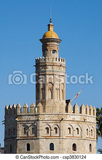 Torre del Oro, Seville - csp3830124