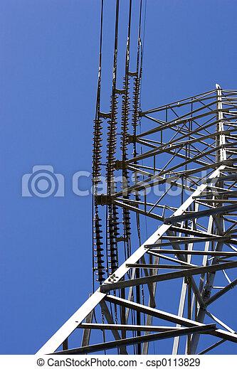 Pilón de electricidad - csp0113829