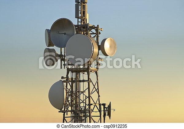 torre, telecomunicações - csp0912235