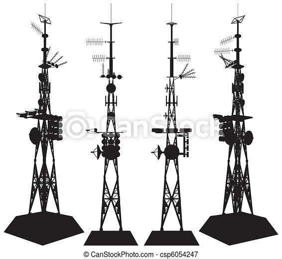 torre, telecomunicazioni - csp6054247