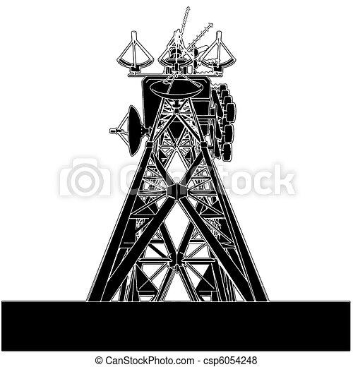 torre, telecomunicazioni - csp6054248