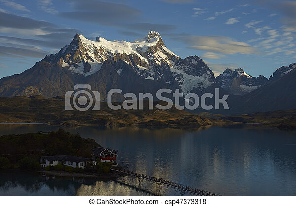 Torres del Paine National Park - csp47373318