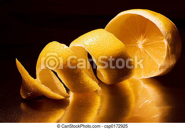 torsade, citron - csp0172925