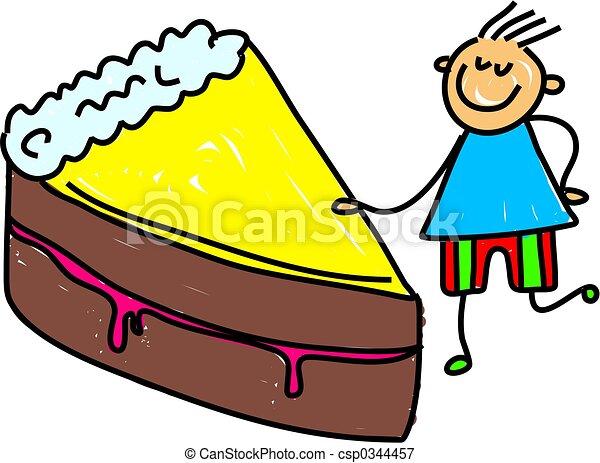 torta, capretto - csp0344457