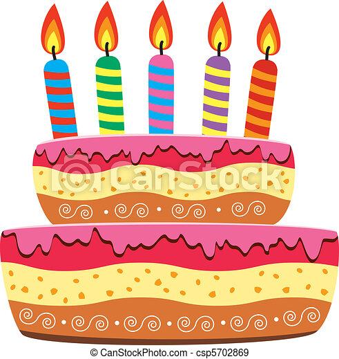 torta, compleanno - csp5702869