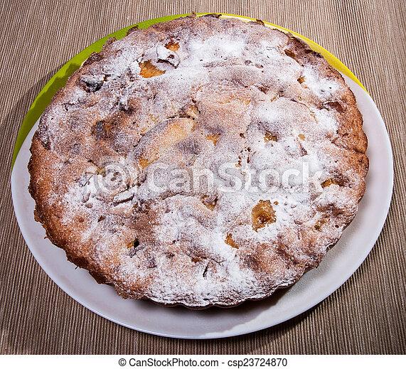 torta, piastra - csp23724870