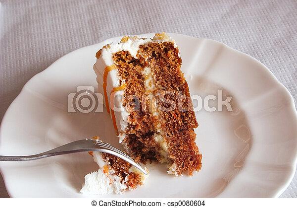 torta, piastra, taglio - csp0080604