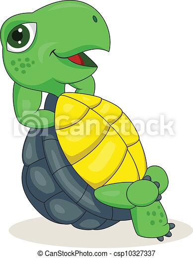 tortue, délassant - csp10327337