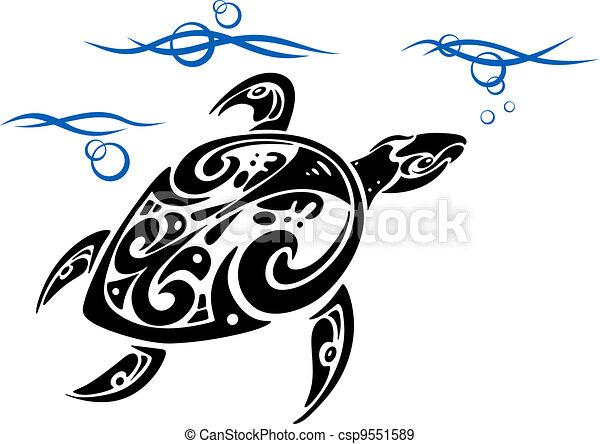 tortue eau mer tortue tatouage conception oc an eau. Black Bedroom Furniture Sets. Home Design Ideas
