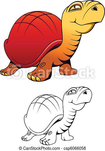 Tortue rigolote dessin anim tortue rigolote tatouage - Image tortue rigolote ...