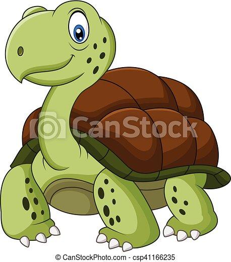 Tortue rigolote dessin anim tortue rigolote vecteur - Image tortue rigolote ...
