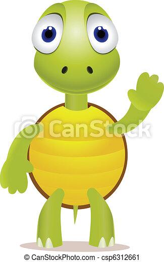 Tortue rigolote peu clipart vectoris recherchez - Image tortue rigolote ...