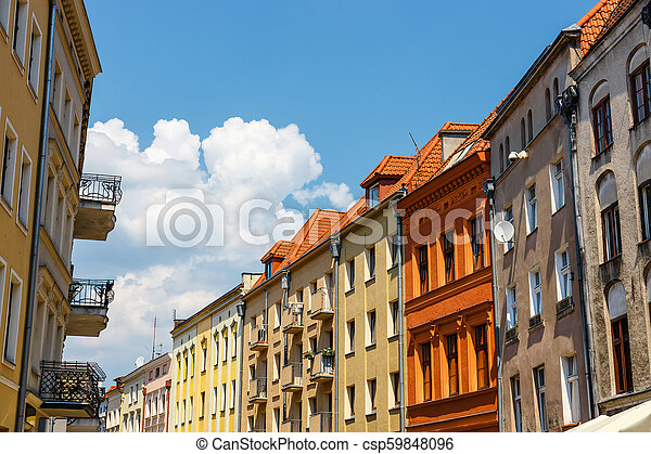 Torun  is listed among the UNESCO World Heritage Sites. Birthplace of Nicolaus Copernicus - csp59848096