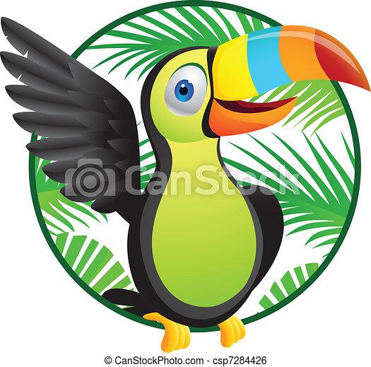 toucan, oiseau - csp7284426
