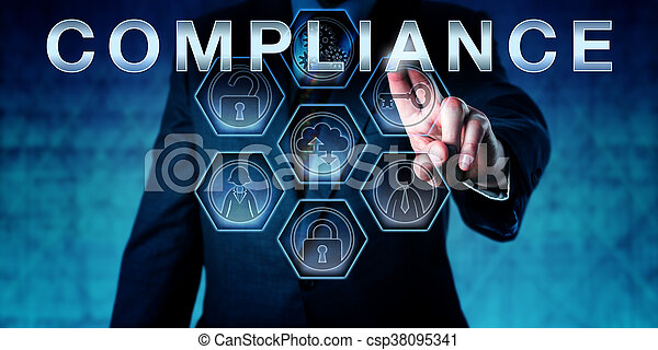 toucher, constitué, auditeur, conformité - csp38095341