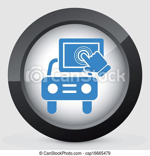 Touchscreen car device - csp16665479