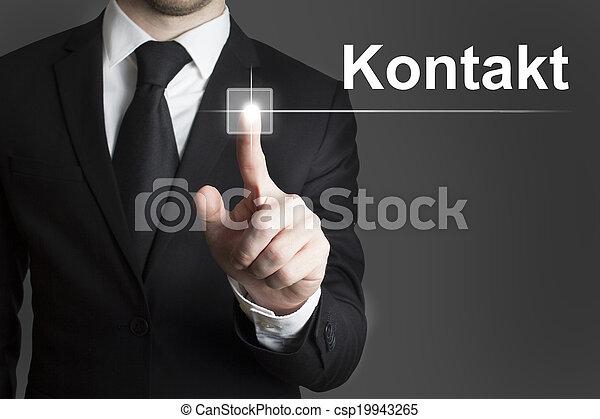 touchscreen, contacto - csp19943265