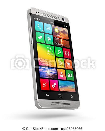 Teléfono de pantalla táctil moderno - csp23083066
