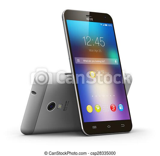 Teléfonos de pantalla táctil modernos - csp28335000