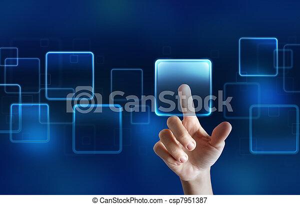 touchscreen, mostra - csp7951387
