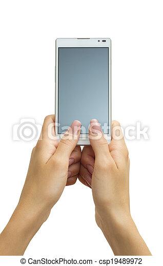 touchscreen smart phone - csp19489972