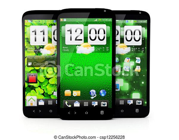 Teléfono de pantalla táctil - csp12256228
