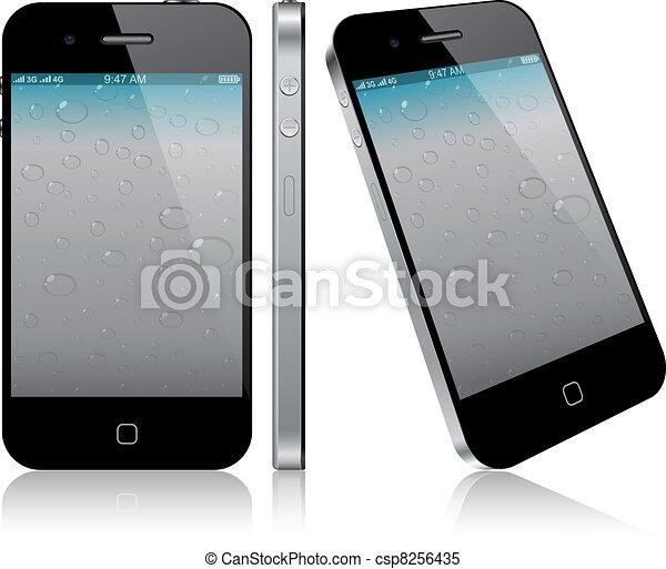 touchscreen, smartphone, concept. - csp8256435