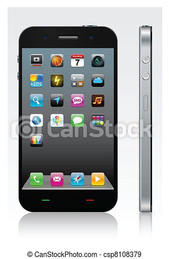 Concepto de teléfonos inteligentes. - csp8108379