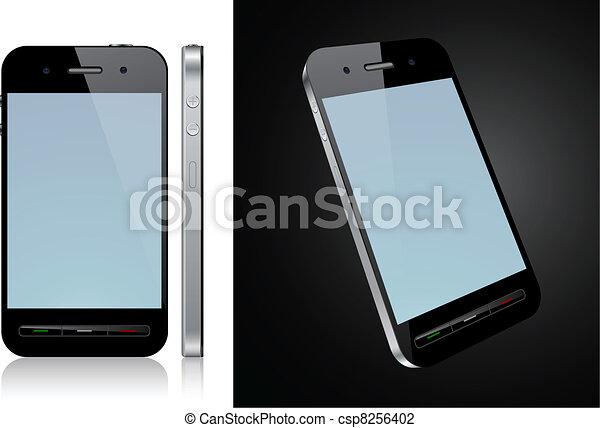touchscreen, smartphone, concept. - csp8256402