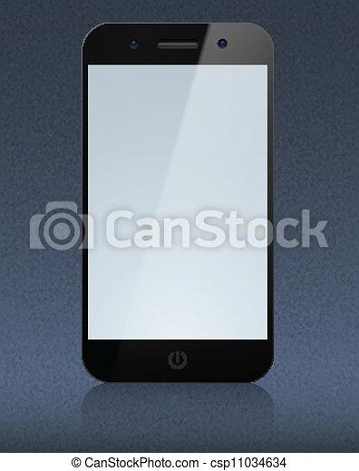 touchscreen, smartphone, concept. - csp11034634
