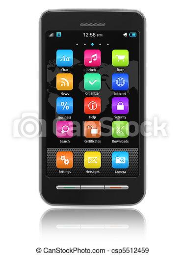 Teléfono de pantalla táctil - csp5512459