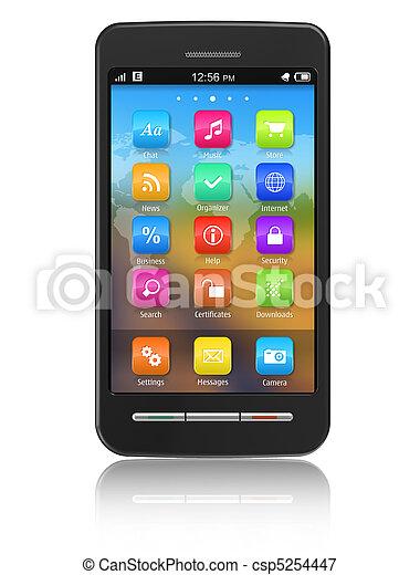 Touchscreen smartphone - csp5254447