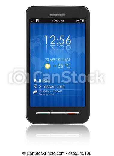 Teléfono de pantalla táctil - csp5545106