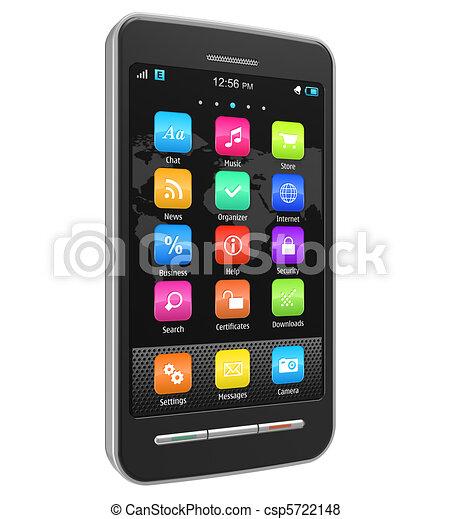 Teléfono de pantalla táctil - csp5722148