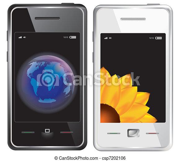 Teléfono de pantalla táctil Vector - csp7202106