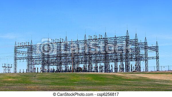 tour, électrique - csp6256817