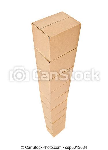 tour, boîtes carton - csp5013634