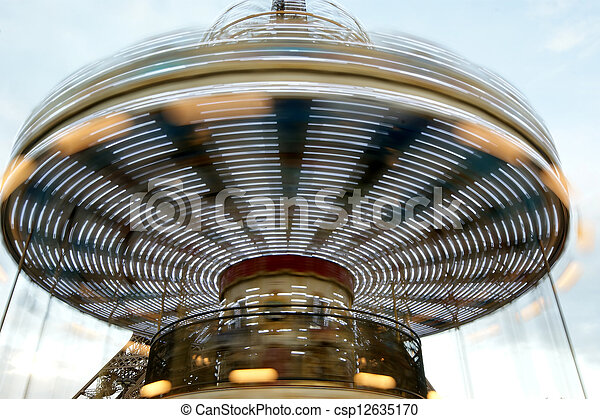 tour, carrousel, eiffel, paris - csp12635170