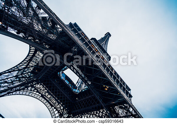 tour, eiffel, paris. - csp59316643
