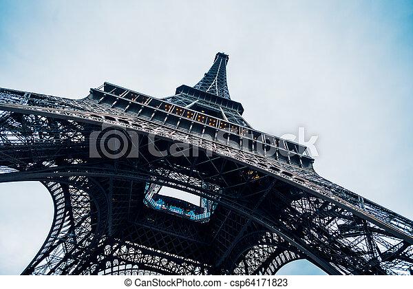 tour, eiffel, paris. - csp64171823