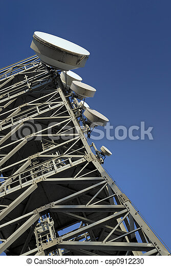 tour, télécommunications - csp0912230