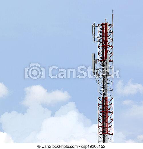 tour, télécommunications - csp19208152