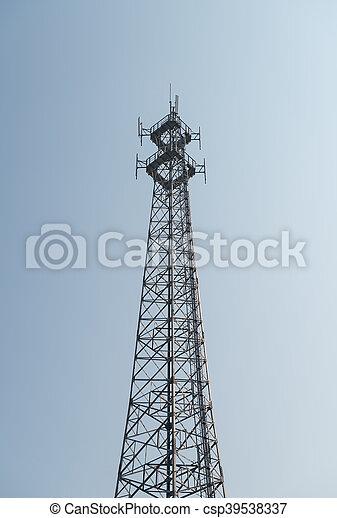 tour, télécommunications - csp39538337