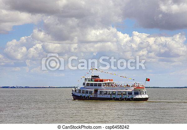 touring boat - csp6458242