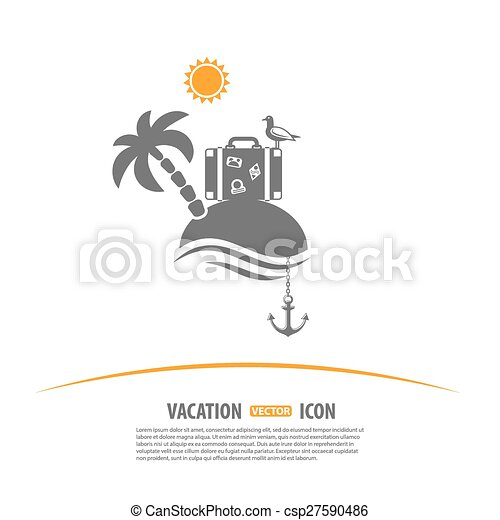 Tourism and Vacation Logo - csp27590486