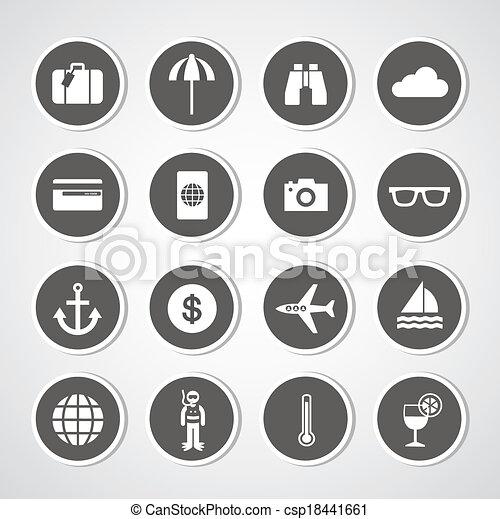 tourism symbol - csp18441661