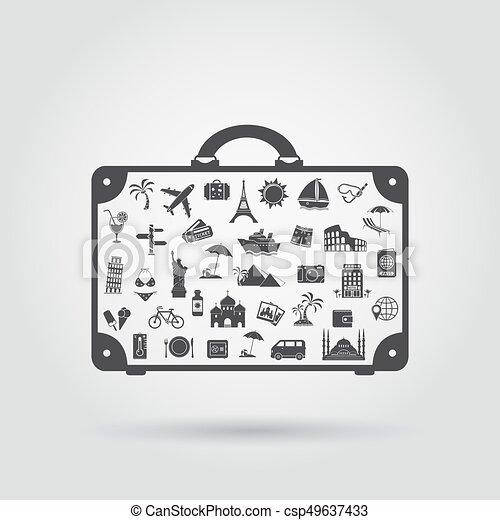 Tourism symbol - csp49637433