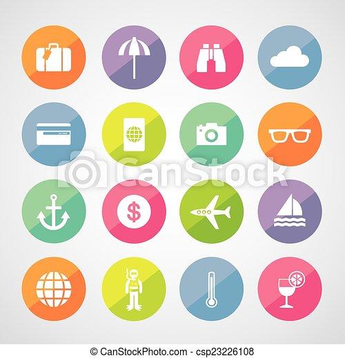 tourism symbol - csp23226108