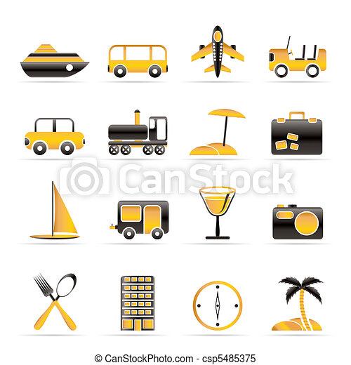tourisme, transport, voyage - csp5485375